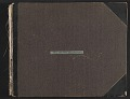 View Scrapbook of materials relating to George Whitney's art collection digital asset: cover