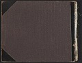 View Scrapbook of materials relating to George Whitney's art collection digital asset: cover back