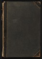 View Gertrude Vanderbilt Whitney scrapbook digital asset: cover