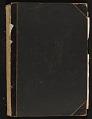 View Gertrude Vanderbilt Whitney scrapbook digital asset: cover back