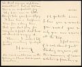 View Harry Payne Whitney letter to Gertrude Vanderbilt Whitney digital asset number 0