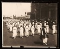 View Red Cross nurses in parade digital asset number 0