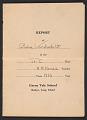 View Gloria Vanderbilt report card digital asset number 0