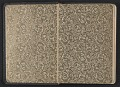 View Gertrude Vanderbilt Whitney sketchbook/diary digital asset: cover back
