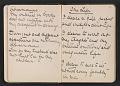 View Gertrude Vanderbilt Whitney sketchbook/diary digital asset: pages 13