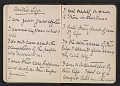 View Gertrude Vanderbilt Whitney sketchbook/diary digital asset: pages 15