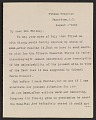 View Letter from Mary C. Chew to Gertrude Vanderbilt Whitney digital asset: page