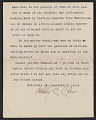 View Letter from Mary C. Chew to Gertrude Vanderbilt Whitney digital asset: page 2