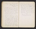 View Gertrude Vanderbilt Whitney journal, vol. 1 digital asset: pages 2