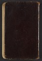 View Gertrude Vanderbilt Whitney journal, vol. 1 digital asset: cover back