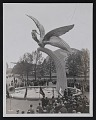 View Photograph of sculpture <em>Spirit of Flight</em> by Gertrude Vanderbilt Whitney at the New York World's Fair digital asset: front
