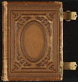 View Photograph album of nineteenth century artists digital asset: cover