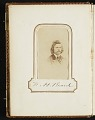 View Photograph album of nineteenth century artists digital asset: page 1
