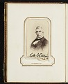 View Photograph album of nineteenth century artists digital asset: page 3