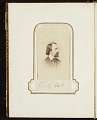 View Photograph album of nineteenth century artists digital asset: page 21