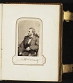 View Photograph album of nineteenth century artists digital asset: page 12