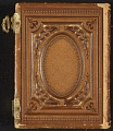 View Photograph album of nineteenth century artists digital asset: cover back