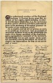 View Declaration by members of the National Academy of Design honoring Worthington Whittredge on his eighty-eighth birthday digital asset: page 1