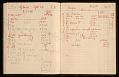 View Frans Wildenhain's kiln log digital asset: page 16
