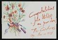 View Norman Carton greeting card to John Brantley Wilder digital asset number 0