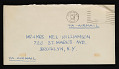 View Charles White, Pasadena, California letter to Melvin Williamson, Brooklyn, New York digital asset: envelope