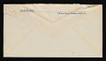 View Charles White, Pasadena, California letter to Melvin Williamson, Brooklyn, New York digital asset: envelope verso