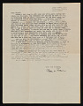 View Charles White, Pasadena, California letter to Melvin Williamson, Brooklyn, New York digital asset number 0