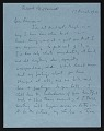 View Robert Motherwell letter to Emerson Woelffer digital asset number 0