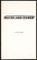 View Water and power: The role of water in the lives of several prominent statesmen digital asset: cover