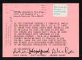 View Lucy R. Lippard invitation to Ruth Iskin digital asset number 0