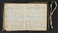 View Beatrice Wood diary digital asset: pages 157