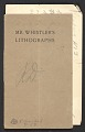 View Catalogue of an exhibition of lithographs by the late James McNeill Whistler digital asset number 1