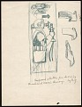 View Notes and sketches for mural for the Brodhead Naval Armory, Detroit, Mich. digital asset number 0