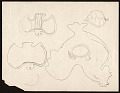View Sketches drawn over a letter addressed to the Art Institute of Chicago digital asset: page 2