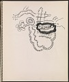 View Ray Yoshida sketchbook digital asset: page 3