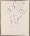 View Ray Yoshida sketchbook digital asset: page 13