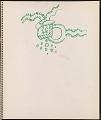 View Ray Yoshida sketchbook digital asset: page 14
