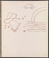 View Ray Yoshida sketchbook digital asset: page 16
