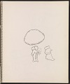 View Ray Yoshida sketchbook digital asset: page 17