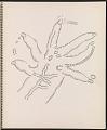 View Ray Yoshida sketchbook digital asset: page 19