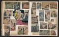 View Ray Yoshida scrapbook of comic book clippings digital asset: pages 17