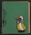 View Unidentified child's scrapbook digital asset: cover