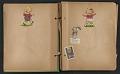 View Unidentified child's scrapbook digital asset: pages 1