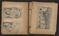 View Unidentified child's scrapbook digital asset: pages 10
