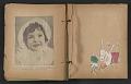 View Unidentified child's scrapbook digital asset: pages 11