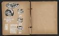 View Unidentified child's scrapbook digital asset: pages 13