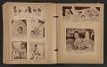 View Unidentified child's scrapbook digital asset: pages 16