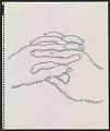 View Drawing of clasped hands digital asset number 0