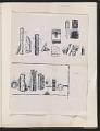 View Ray Yoshida sketchbook digital asset: page 8