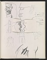 View Ray Yoshida sketchbook digital asset: page 18